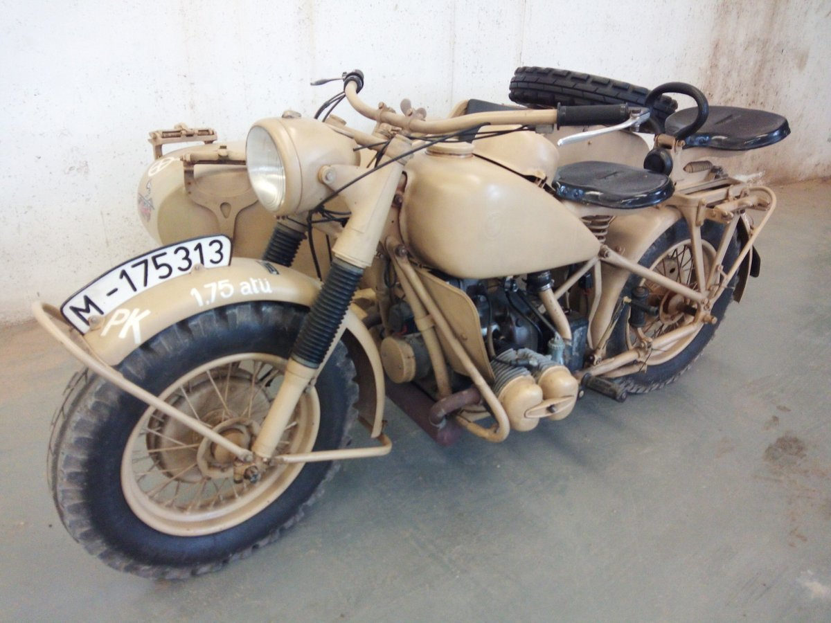 1942 Bmw r75 wermach For Sale (picture 1 of 5)