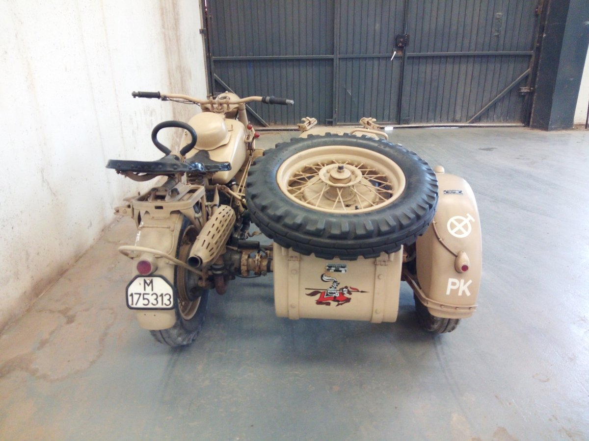 1942 Bmw r75 wermach For Sale (picture 2 of 5)
