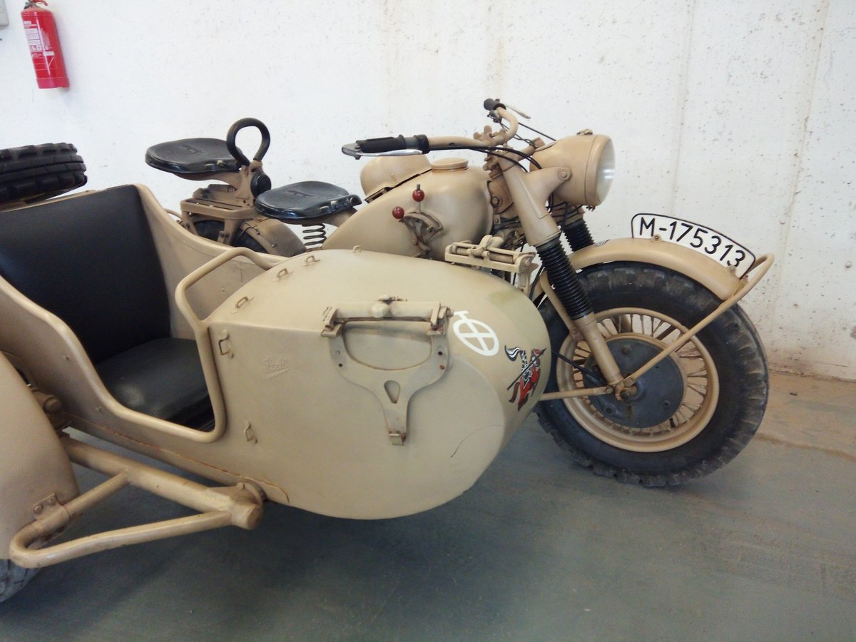 1942 Bmw r75 wermach For Sale (picture 4 of 5)