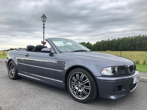 2003 BMW E46 M3 Cabriolet Manual