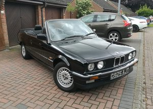 1989 BMW E30 320i Convertible £7,000 - £9,000 For Sale by Auction