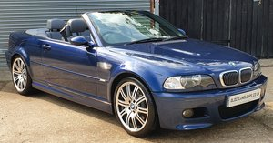 2003 Superb BMW E46 M3 Convertible 6 speed manual - 91,000 Miles For Sale