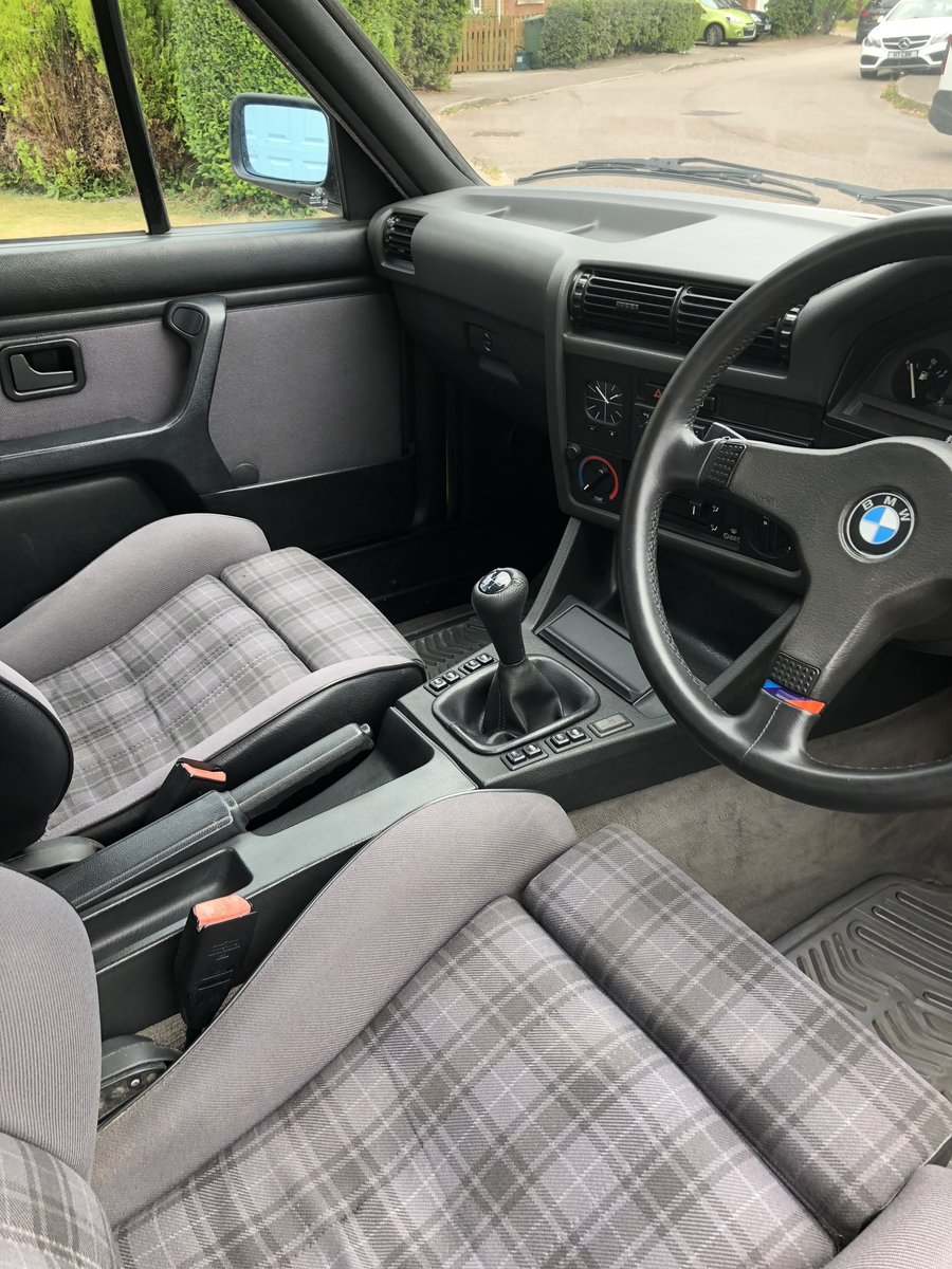 1990 BMW 325i Cabriolet Manual 80k miles FSH For Sale (picture 6 of 6)