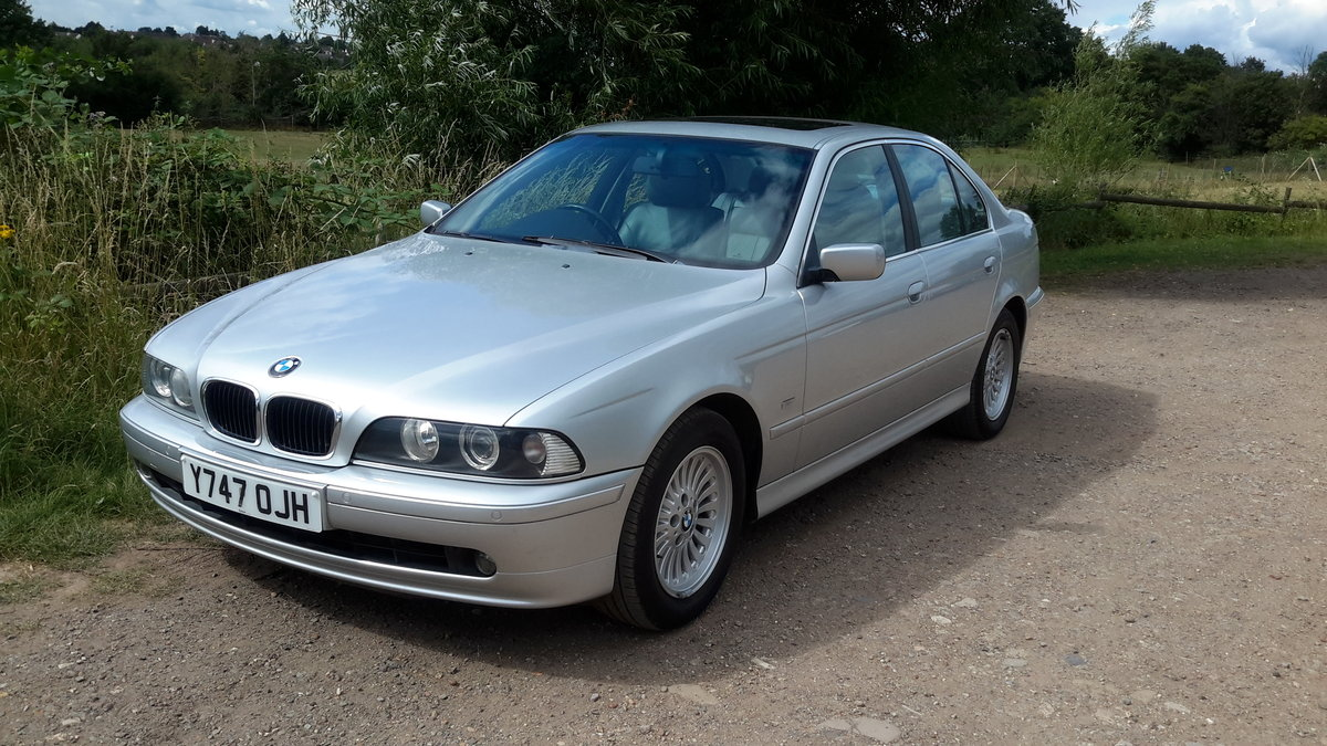 BMW 525i SE E39 AUTOMATIC 2001 64000 MILES 1 OWNER FROM NEW For Sale (picture 1 of 6)