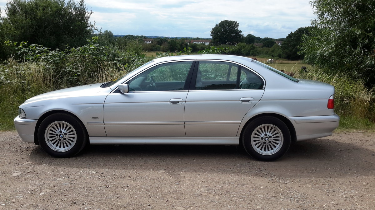 BMW 525i SE E39 AUTOMATIC 2001 64000 MILES 1 OWNER FROM NEW For Sale (picture 2 of 6)