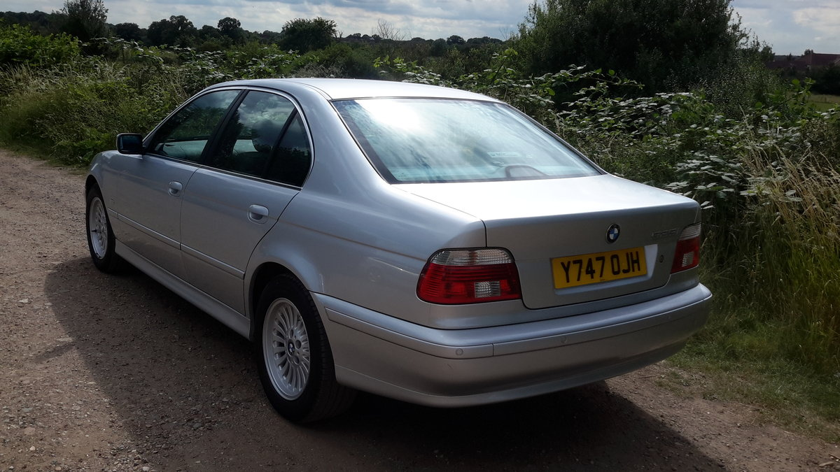 BMW 525i SE E39 AUTOMATIC 2001 64000 MILES 1 OWNER FROM NEW For Sale (picture 3 of 6)