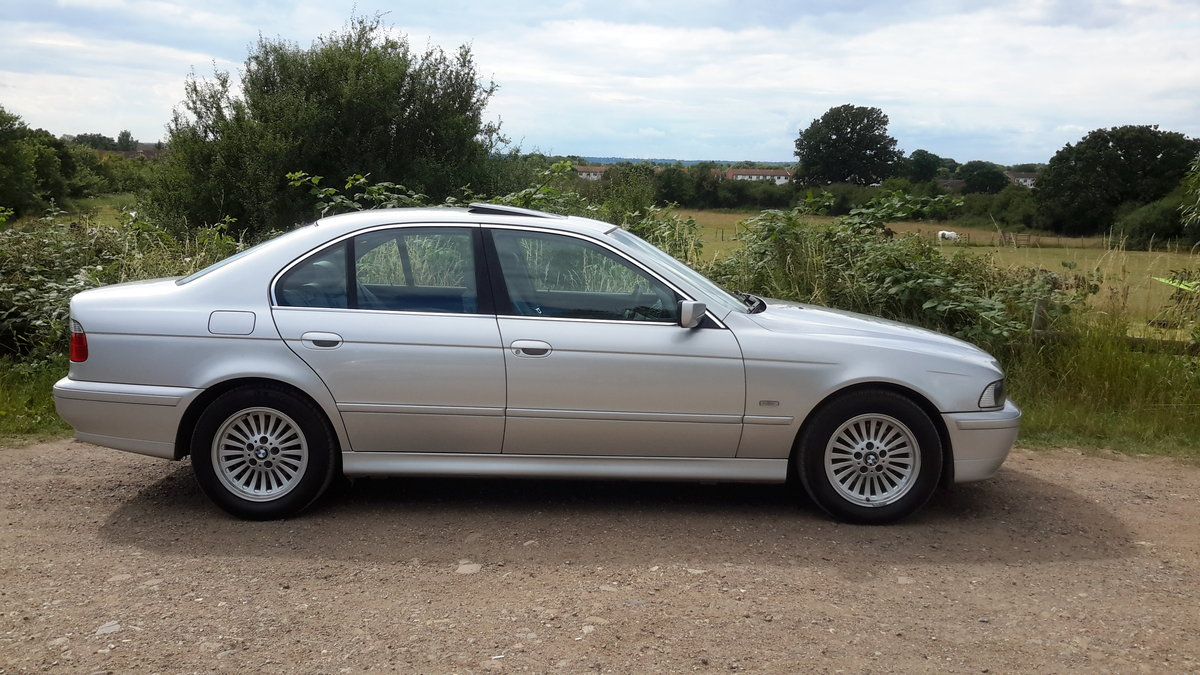 BMW 525i SE E39 AUTOMATIC 2001 64000 MILES 1 OWNER FROM NEW For Sale (picture 6 of 6)