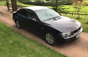 LATE ENTRY - Lot 26 - A 2002 BMW 735i - 21/07/2019 For Sale by Auction