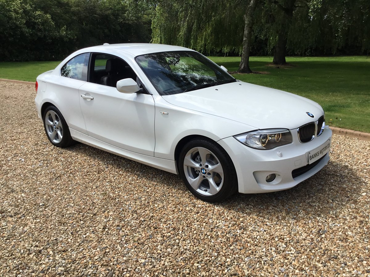 BMW 120 Exclusive Edition Coupe Automatic 2013/63 For Sale (picture 1 of 6)