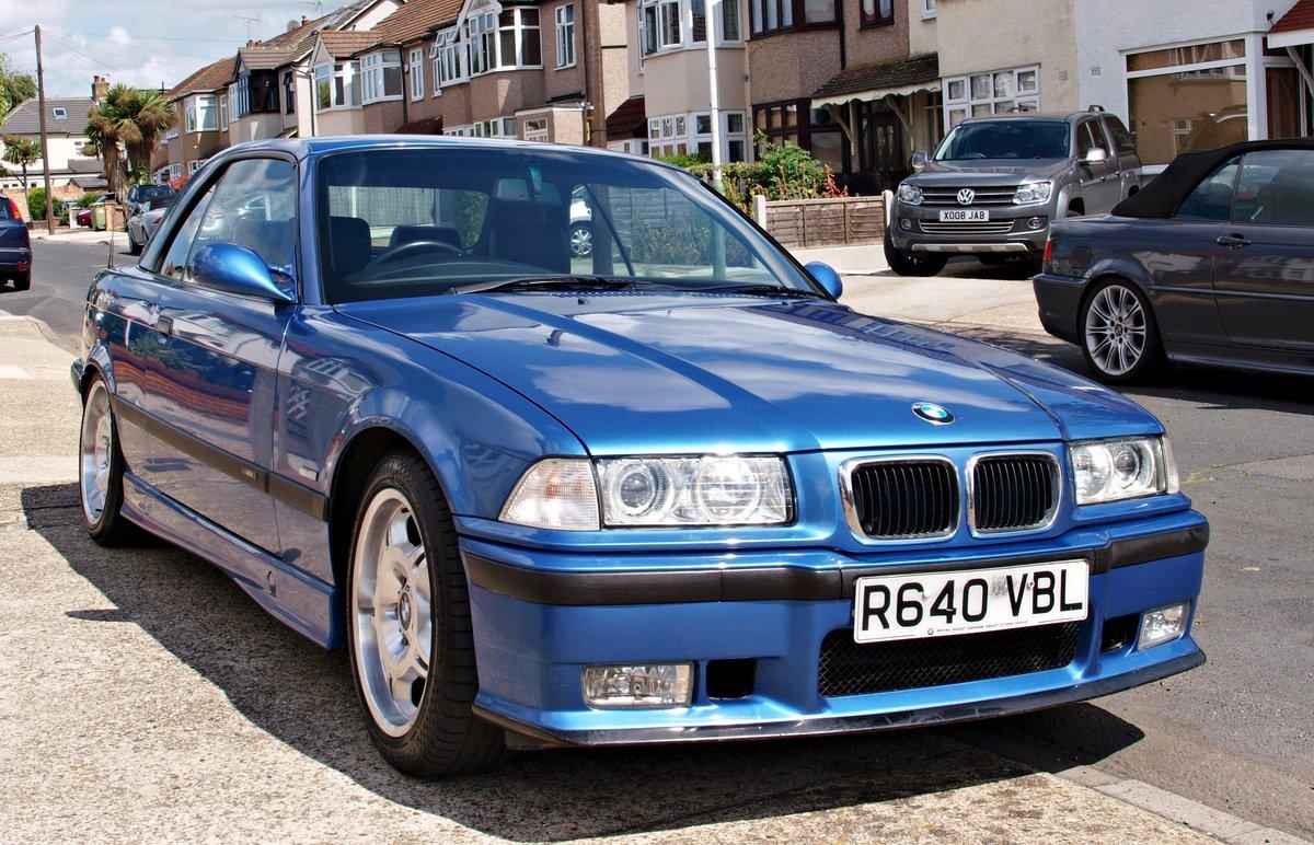 1998 Classic E36 M3 Evo Convertible For Sale (picture 1 of 5)
