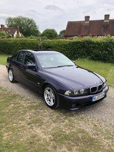 2003 BMW e39 5 Series Technoviolet