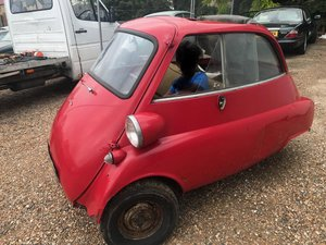 BMW ISETTA 1960 BUBBLE CAR FOR SALE For Sale