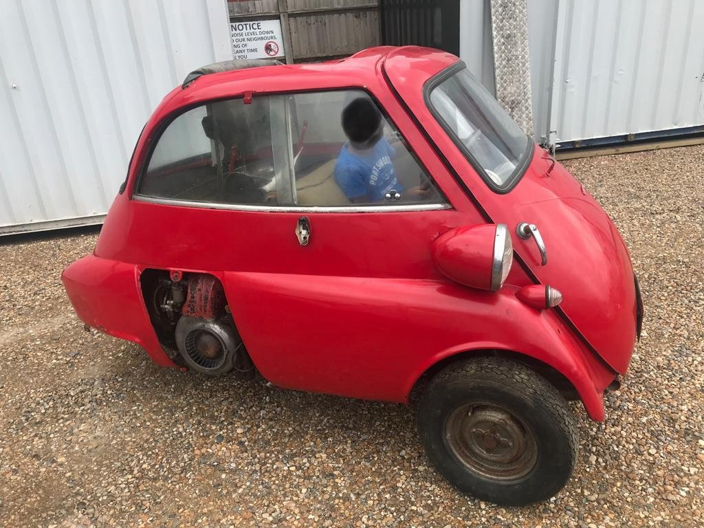 BMW ISETTA 1960 BUBBLE CAR FOR SALE For Sale (picture 2 of 6)