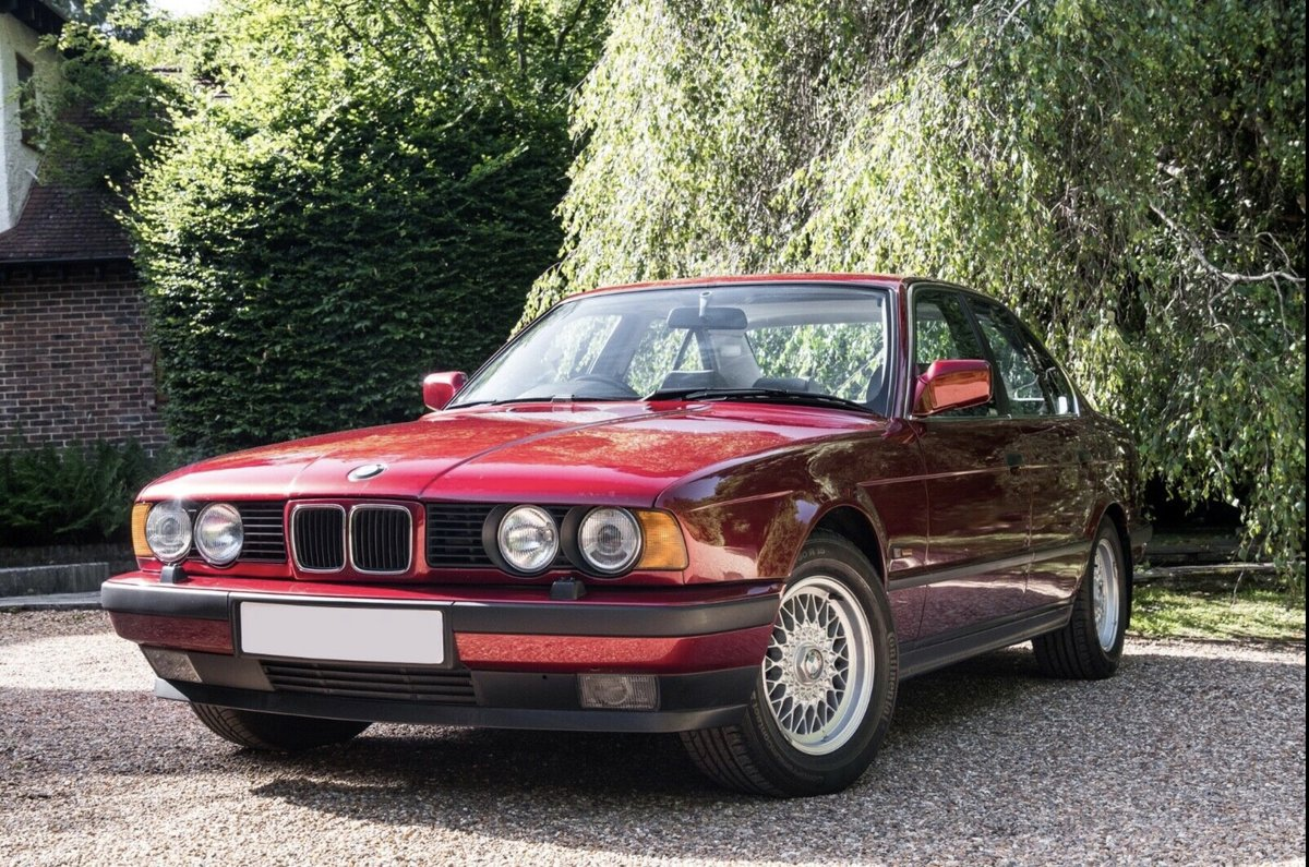1990 BMW E34 535i SE Low Mileage For Sale (picture 1 of 6)
