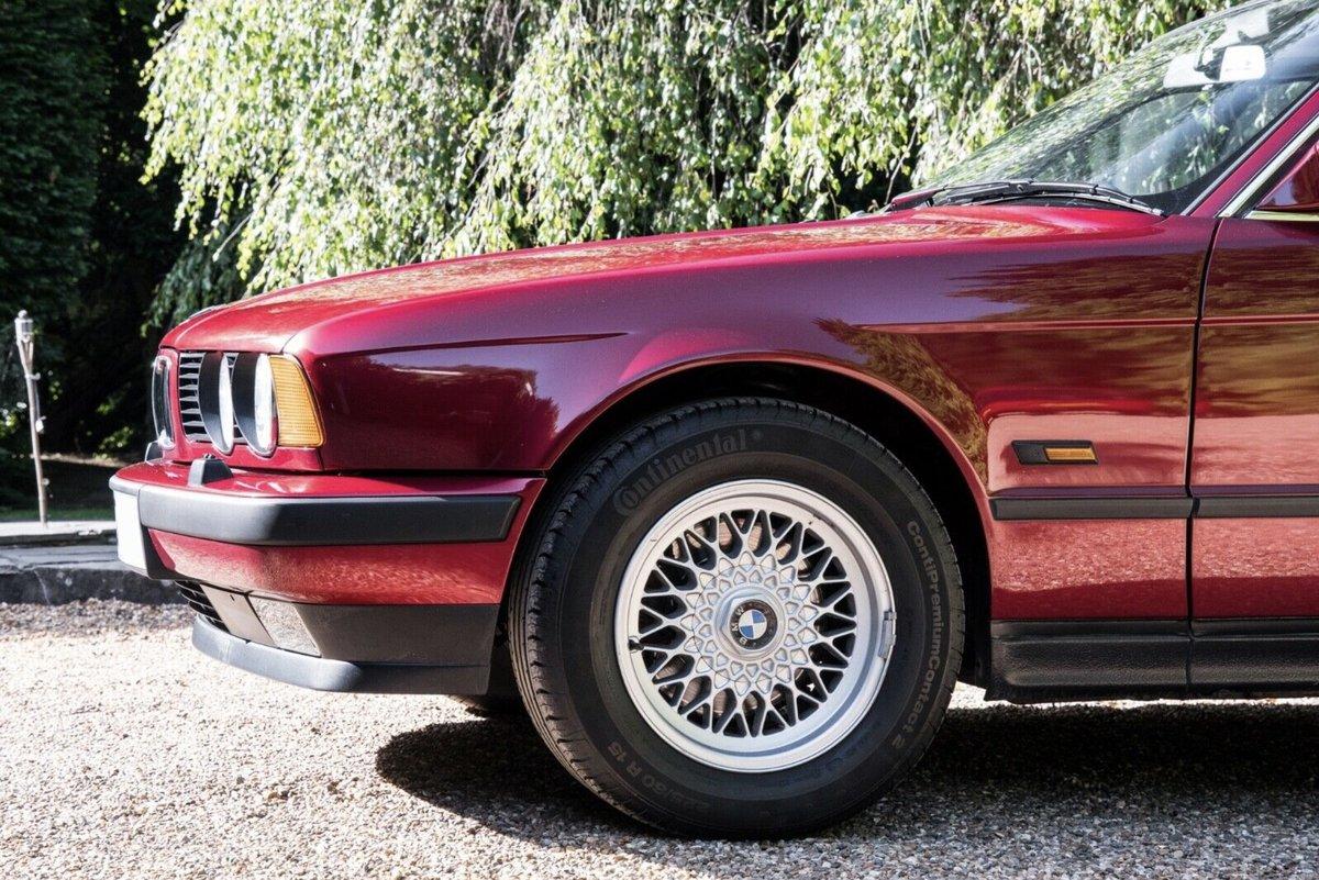 1990 BMW E34 535i SE Low Mileage For Sale (picture 3 of 6)