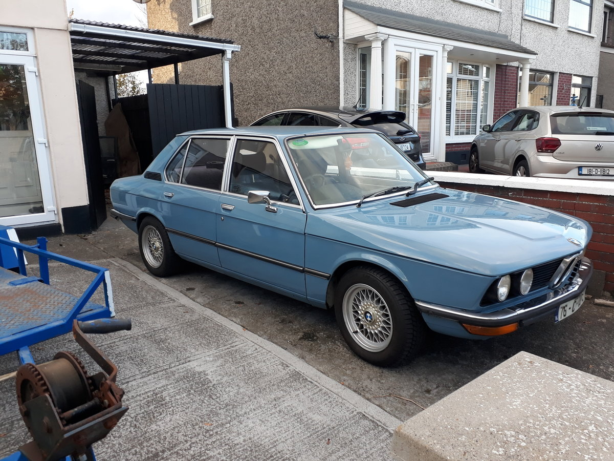1976 BMW e12 528 automatic For Sale (picture 1 of 3)