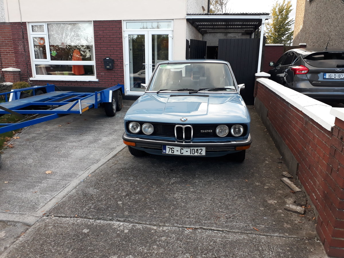 1976 BMW e12 528 automatic For Sale (picture 2 of 3)