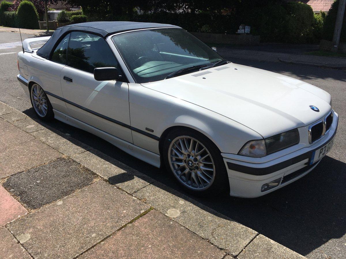 1997 Bmw e36 coupe alpine white For Sale (picture 1 of 2)