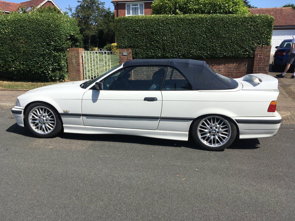 1997 Bmw e36 coupe alpine white For Sale (picture 2 of 2)