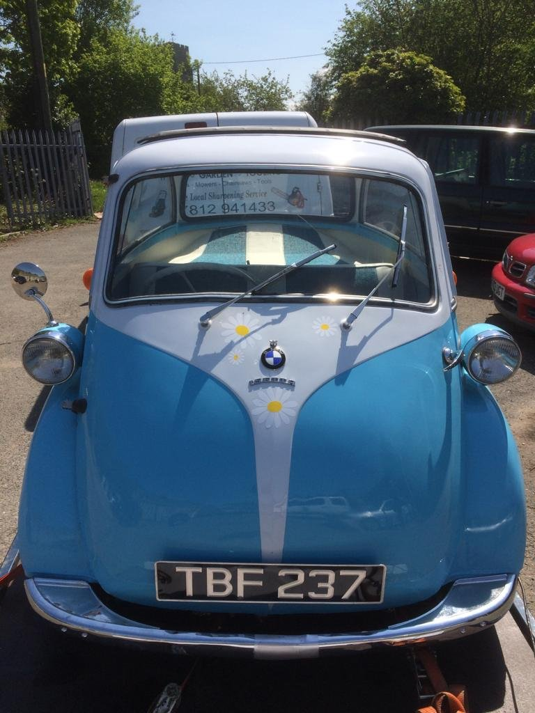 BMW Isetta 1962 Bubble Car For Sale (picture 1 of 2)