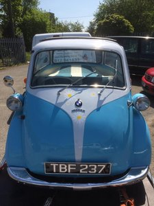 BMW Isetta 1962 Bubble Car