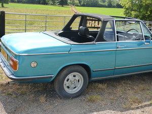 1973 Rare RHD BMW 2002 Baur convertible For Sale