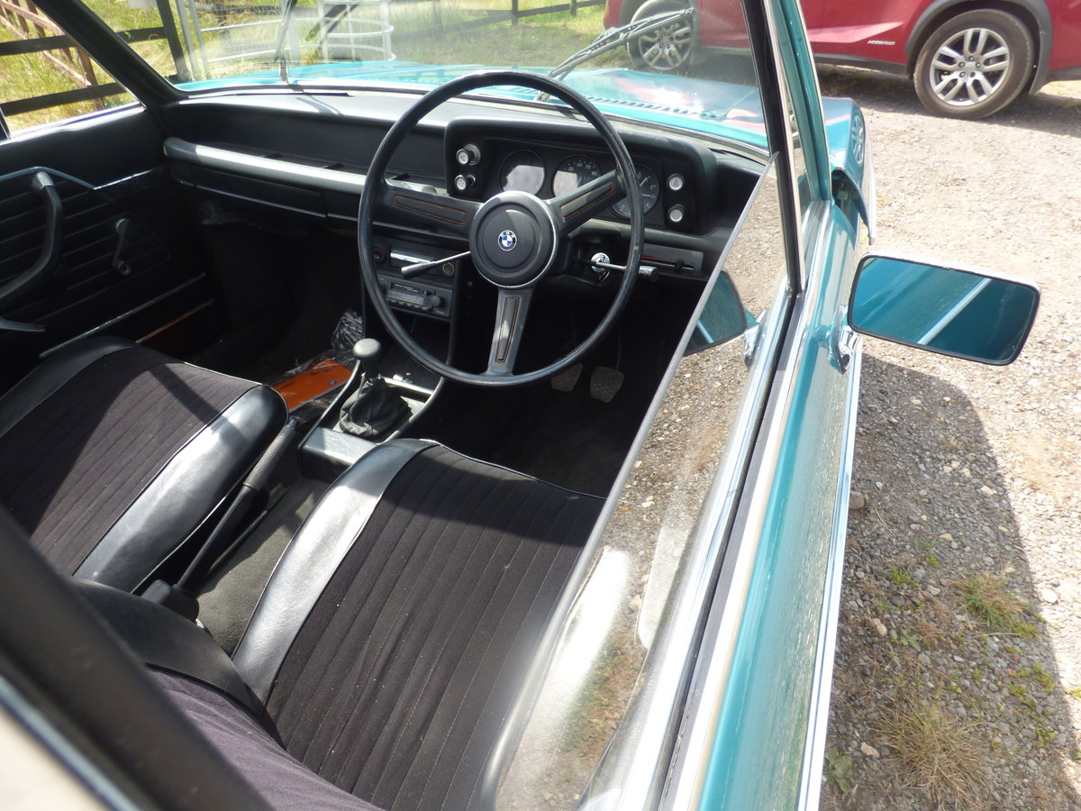 1973 Rare RHD BMW 2002 Baur convertible For Sale (picture 3 of 6)