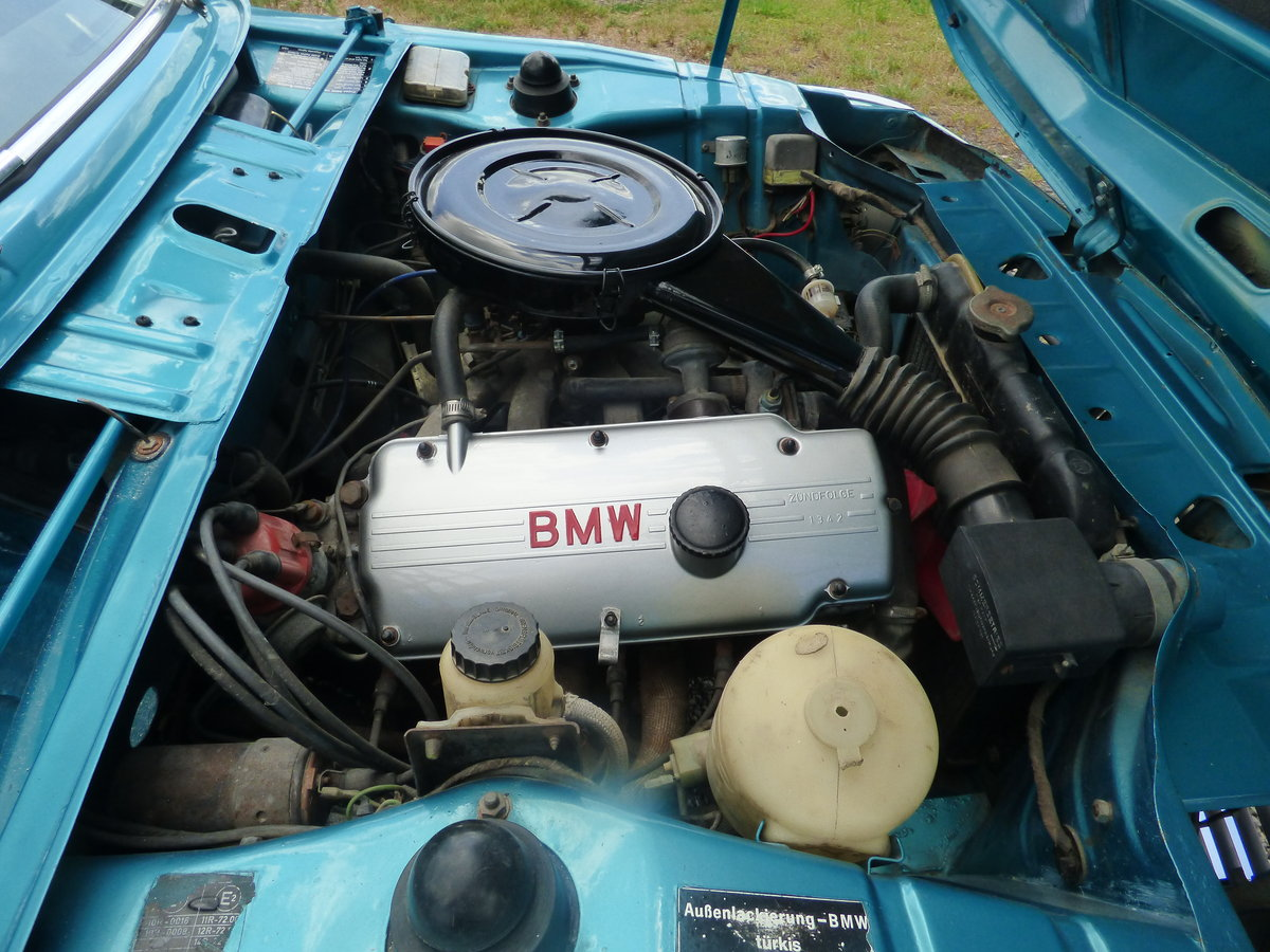 1973 Rare RHD BMW 2002 Baur convertible For Sale (picture 4 of 6)