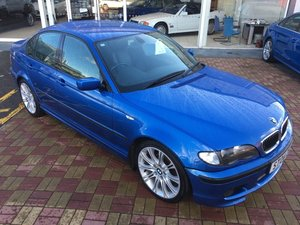2004 BMW 320i M Sport Saloon Individual For Sale by Auction