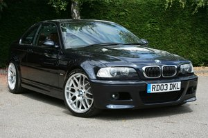 2003 BMW M3 Coupe Manual SOLD
