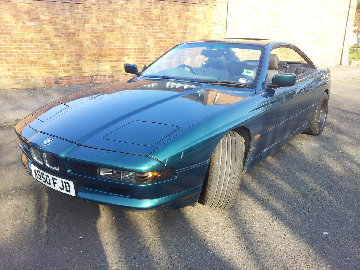 1993 Nice Example BMW 8 series For Sale (picture 2 of 6)