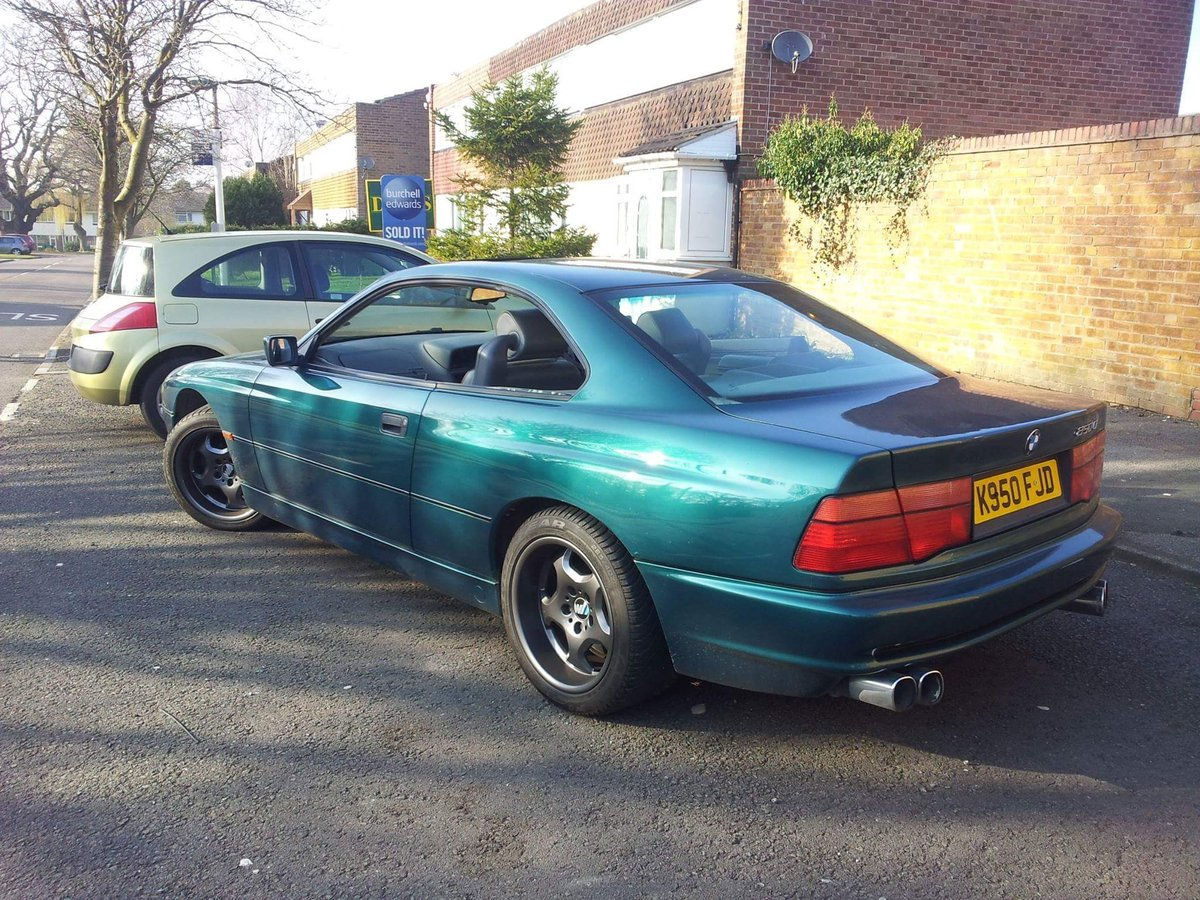 1993 Nice Example BMW 8 series For Sale (picture 3 of 6)