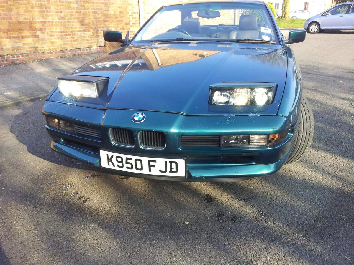 1993 Nice Example BMW 8 series For Sale (picture 6 of 6)