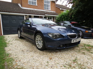 2004 BMW 645Ci - 329bhp/450Nm V8, 6-speed auto