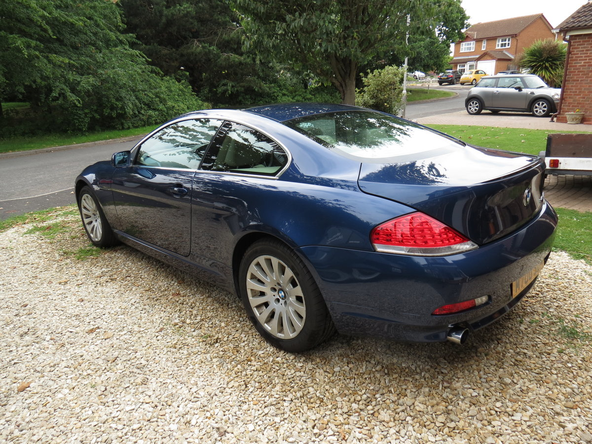2004 BMW 645Ci - 329bhp/450Nm V8, 6-speed auto For Sale (picture 3 of 6)