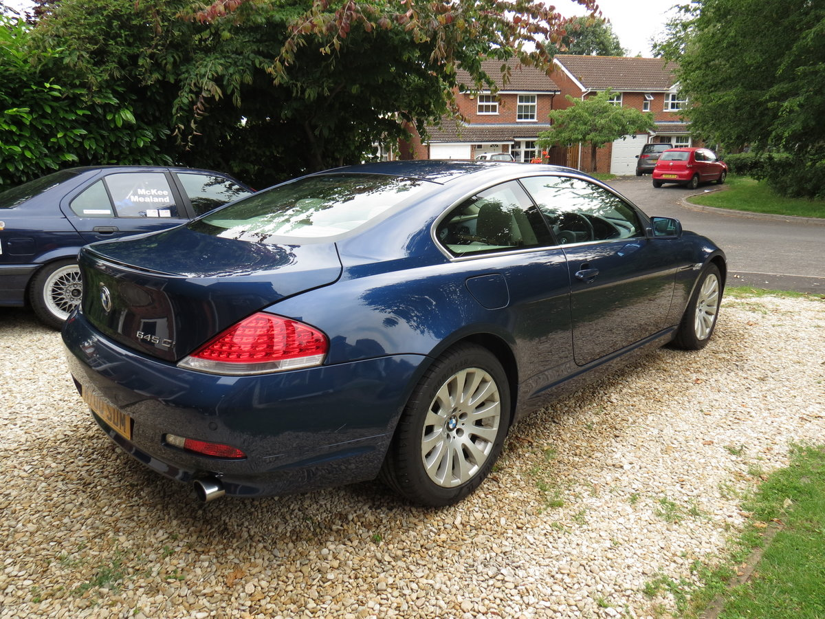 2004 BMW 645Ci - 329bhp/450Nm V8, 6-speed auto For Sale (picture 4 of 6)