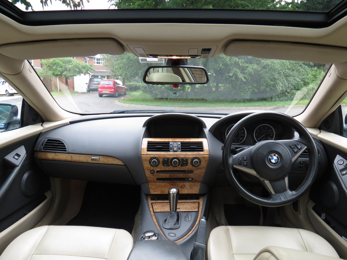 2004 BMW 645Ci - 329bhp/450Nm V8, 6-speed auto For Sale (picture 6 of 6)