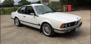 1986 BMW 628 CSI auto For Sale