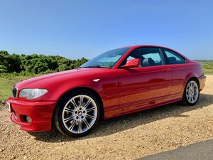 2004 Stunning Imola Red 330ci Msport For Sale