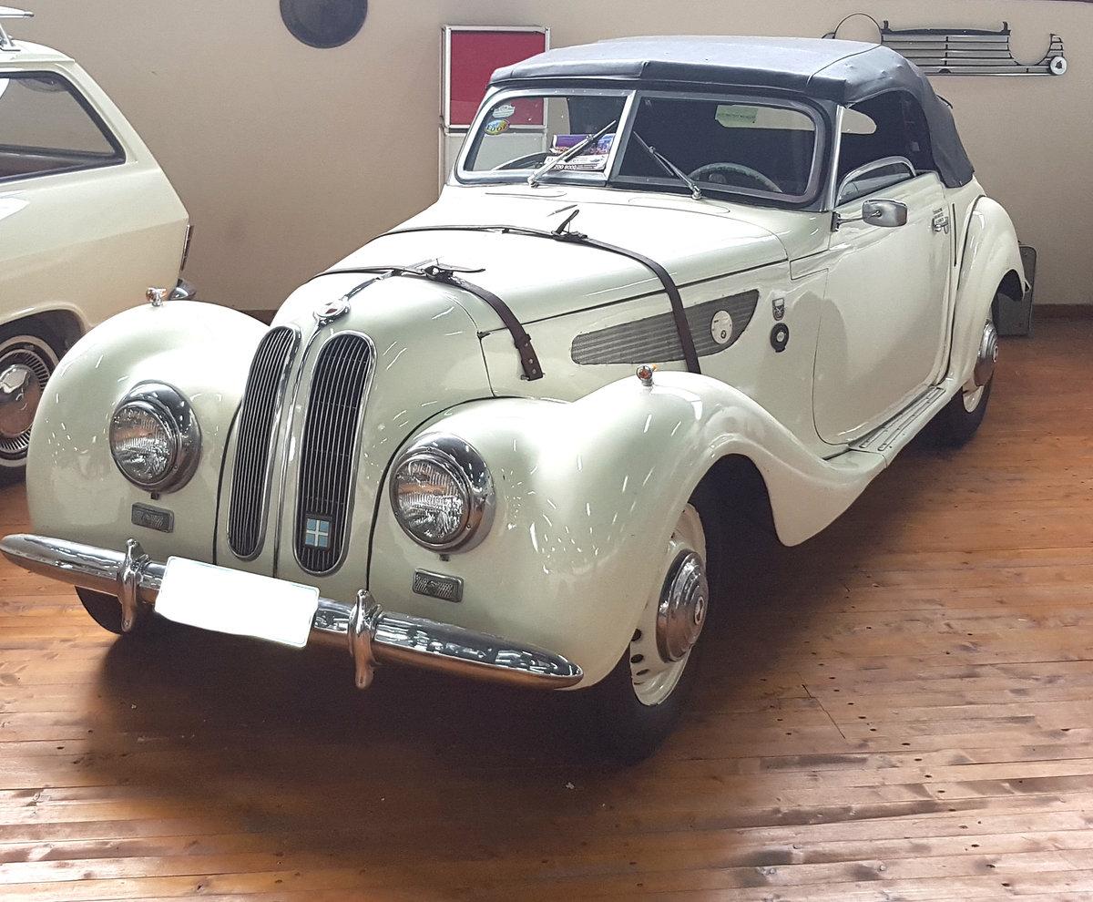 1953 BMW 327 Sportcabrio For Sale (picture 1 of 6)
