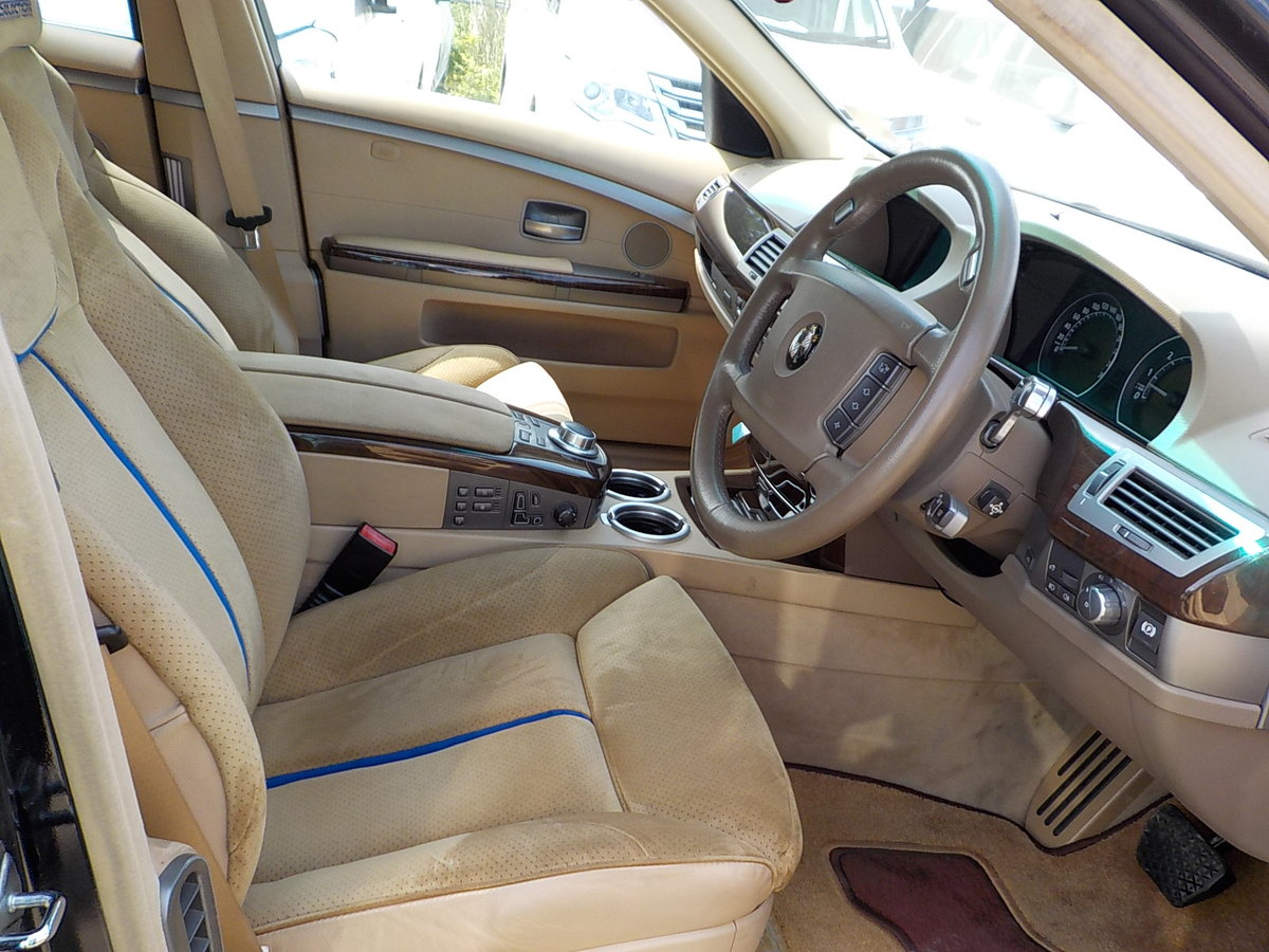2006 BMW 7 SERIES 750li 4.8 AUTOMATIC LWB * VERY HIGH SPEC * For Sale (picture 3 of 6)