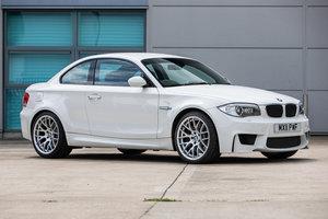 2011 BMW 1 Series M Coupe manual Lot 666    Est £38-42,000 For Sale by Auction