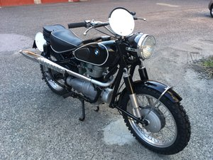 1958 BMW R26 Six Days