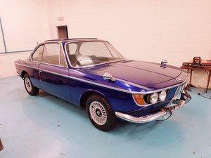 1968 BMW 2000 CSA (E9) A rare, RHD, £20,000 - £25,000  For Sale by Auction