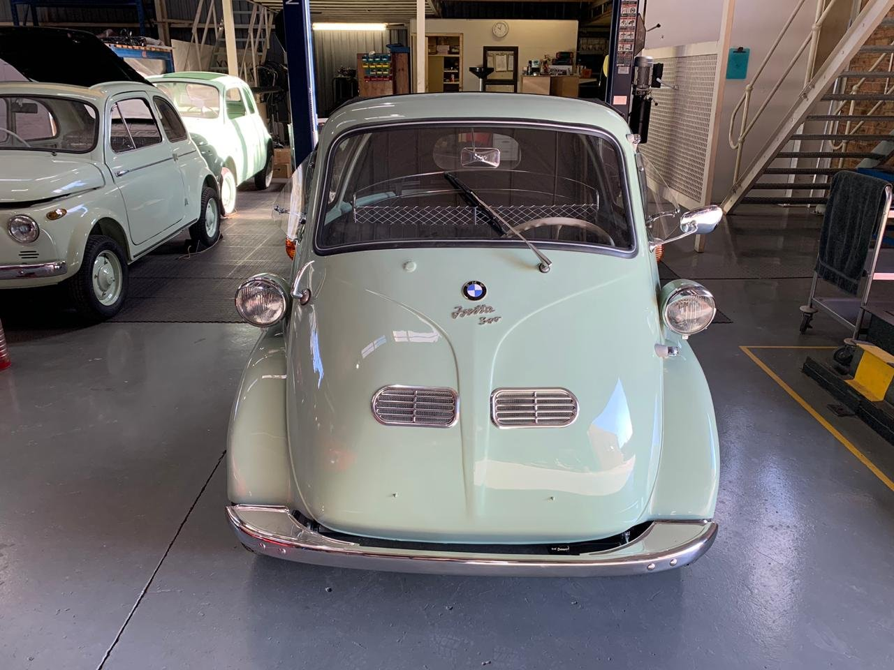 1958 BMW Isetta 300 Cabriolet , perfectly restored For Sale (picture 1 of 6)