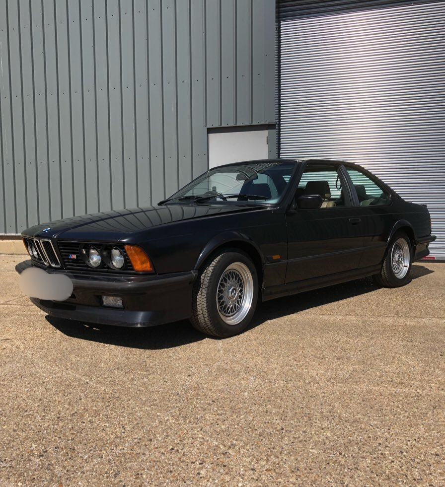 1987 BMW M635csi Shadowline edition (#410/524) For Sale (picture 1 of 6)
