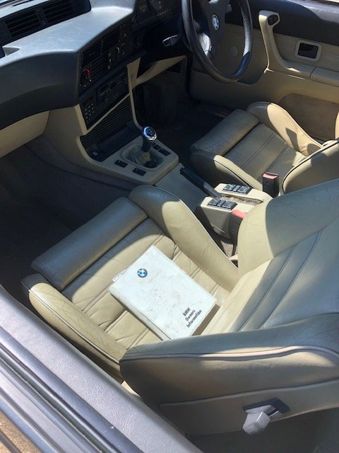 1987 BMW M635csi Shadowline edition (#410/524) For Sale (picture 2 of 6)