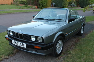 1991 BMW 3 series E30 318i Cabriolet low milage For Sale