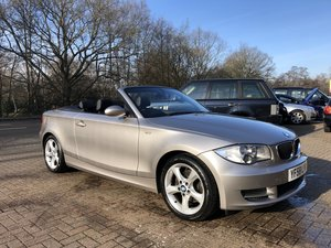 2008 (58) BMW 120i SE Convertible For Sale