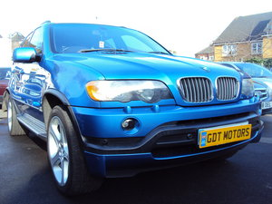 2002 BMW X5/E53 4.6is – Old Skool Muscle Car. LOW Mileage For Sale